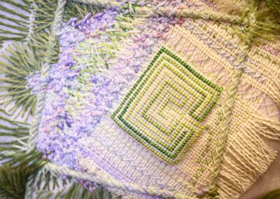 embroidered garden maze